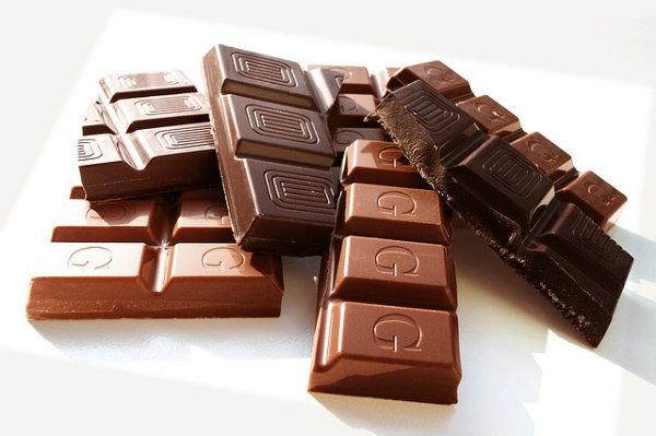 Quanto de chocolate é recomendado comer por dia?