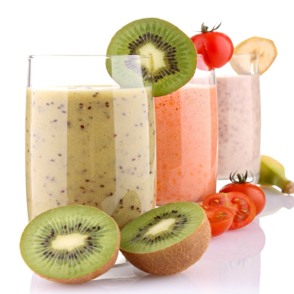 Cuidado com o excesso de frutas, pois elas também são calóricas.