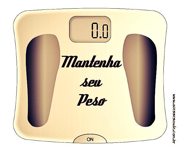 Dicas para manter o peso