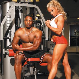 O ganho de massa muscular é uma junção de alimentação saudável + treino adequado